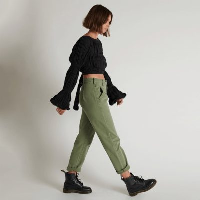 Pantalones Streetwalkers 80s super khaki