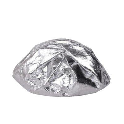 Bolso Saki piñatex silver
